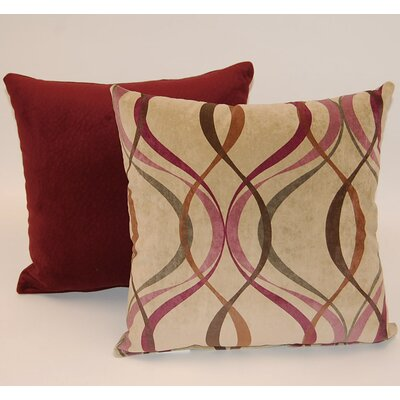 Savi 2 Piece Knife Edge Throw Pillow Set