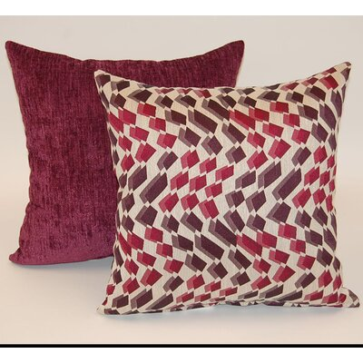 2 Piece Sequence Knife Edge Throw Pillow Set