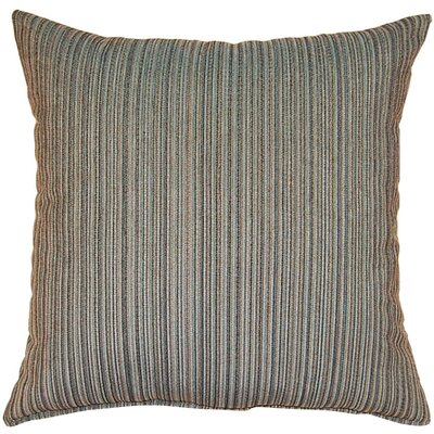 Burress Throw Pillow Color: Denim