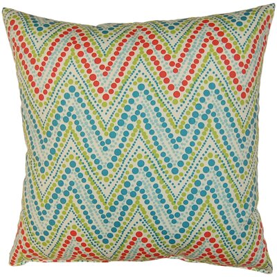 Trend Spotter Cotton Throw Pillow Color: Capri