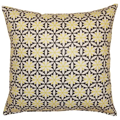 View Finder Cotton Throw Pillow Color: Domino