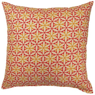 View Finder Cotton Throw Pillow Color: Sorbet