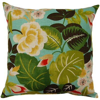 Isla Throw Pillow Color: Seabreeze