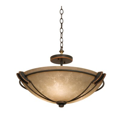 Grande Semi Flush Mount Finish: Antique Copper