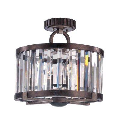 Foster 4-Light Semi Flush Mount