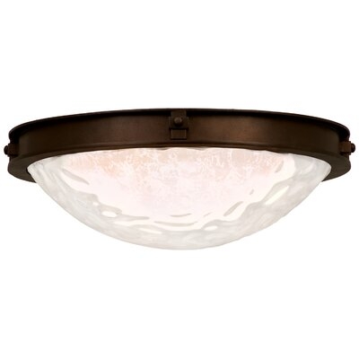 Newport 2-Light Flush Mount
