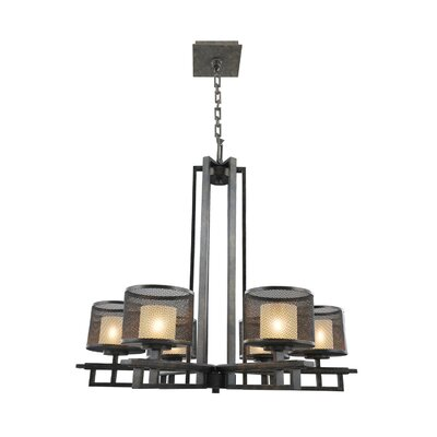 Stanley 6-Light Drum Chandelier