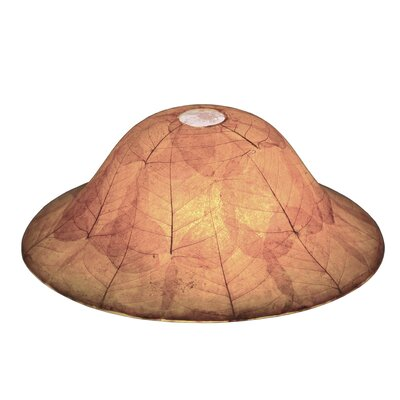 Santa Barbara 1-Light Mini Pendant Shade Color: Buddha Leaf
