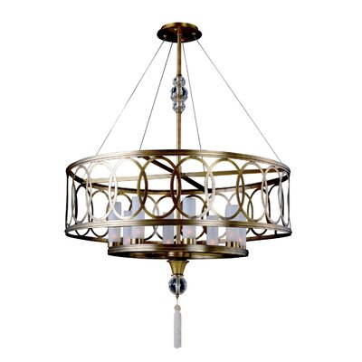 Dorrit 8-Light Drum Pendant