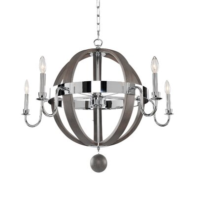 Sharlow 5-Light Candle-Style Chandelier