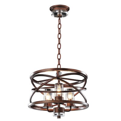 Eternity 3-Light Foyer Pendant