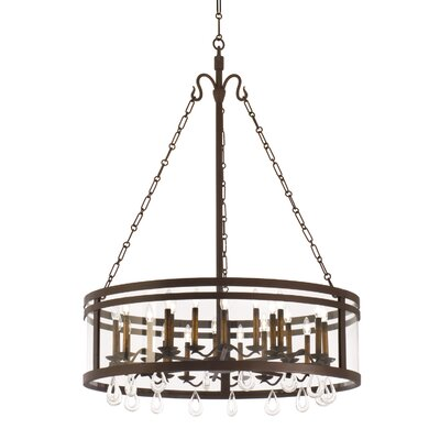 Morris 24-Light Drum Chandelier