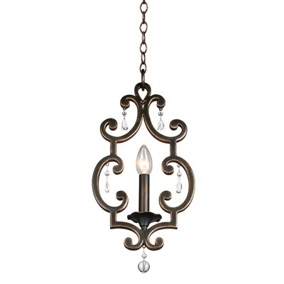 Montgomery 1-Light Mini Pendant Finish: Vintage Iron