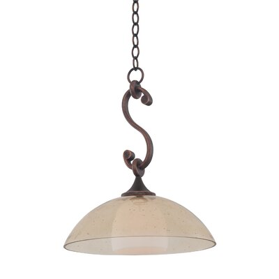 Arroyo 1-Light Bowl Pendant