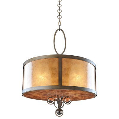 Sandhurst 5-Light Drum Pendant