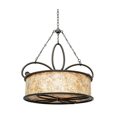 Whitfield 4-Light Drum Pendant