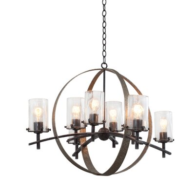 Irvine 8-Light Shaded Chandelier
