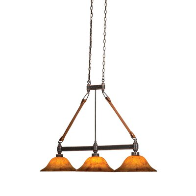 Rodeo Dr. 3-Light Kitchen Island Pendant