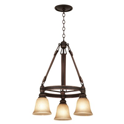 Ibiza 20-Light Shaded Chandelier Shade Type: Gold-streaked Amber