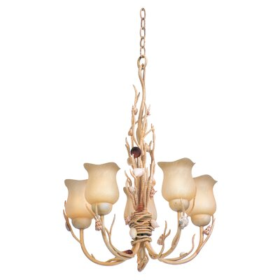 Atlantis 5-Light Shaded Chandelier