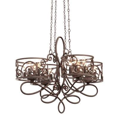Windsor 16-Light Drum Chandelier Finish: Antique Copper