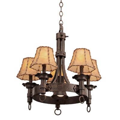 Americana 5-Light Shaded Chandelier