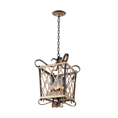 Trellis 4-Light Foyer Pendant