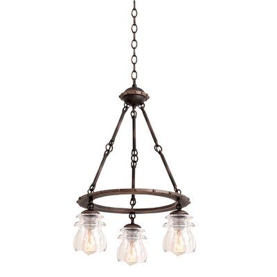 Brierfield 3-Light Mini Chandelier