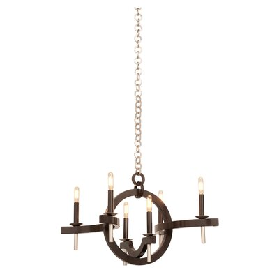 Lunaire 6-Light Candle-Style Chandelier