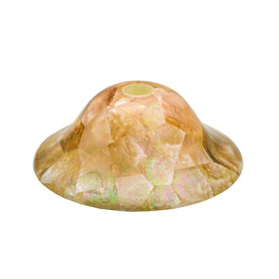 Santa Barbara 1-Light Mini Pendant Shade Color: Iridescent Shell