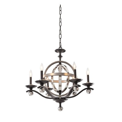 Rothwell 7-Light Candle-Style Chandelier