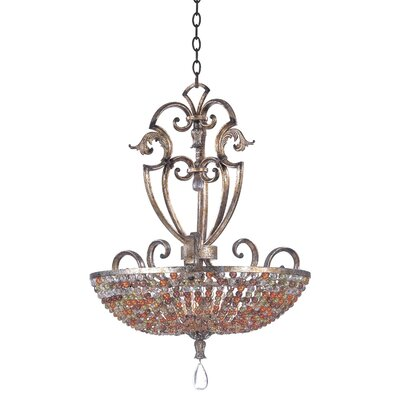 Chesapeake 6-Light Inverted Pendant Finish: Sienna Bronze