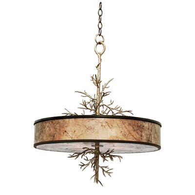 Oakham 4-Light Drum Pendant