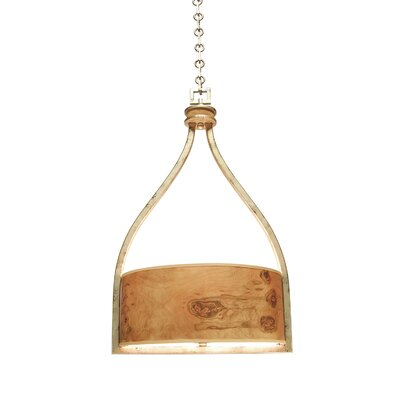 New Haven 6-Light Drum Pendant Finish: Aged Silver