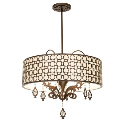 Amesbury 6-Light Semi Flush Mount