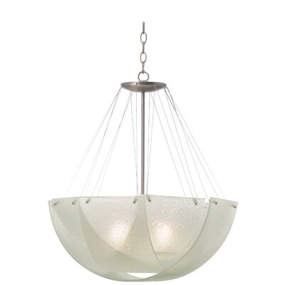 Cirrus 3-Light Shaded Chandelier Bulb Type: Incandescent