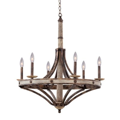 Coronado 6-Light Candle-Style Chandelier