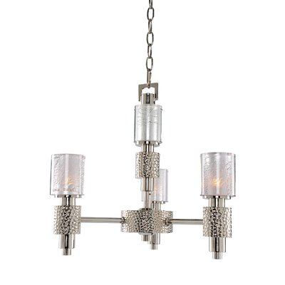 Ashington 3-Light Shaded Chandelier