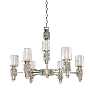 Ashington 6-Light Shaded Chandelier