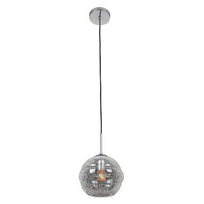 Celine 1-Light Globe Pendant Finish: Chrome, Shade Size: Small