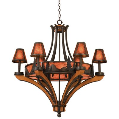 Aspen 6-Light Shaded Chandelier