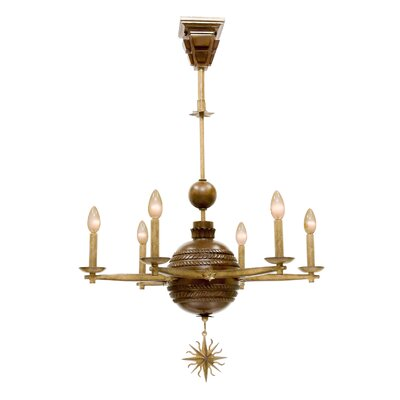 Hampton 6-Light Candle-Style Chandelier