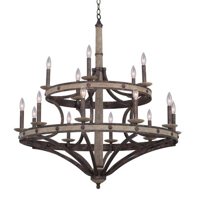 Coronado 15-Light Candle-Style Chandelier