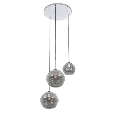Celine 3-Light Foyer Pendant