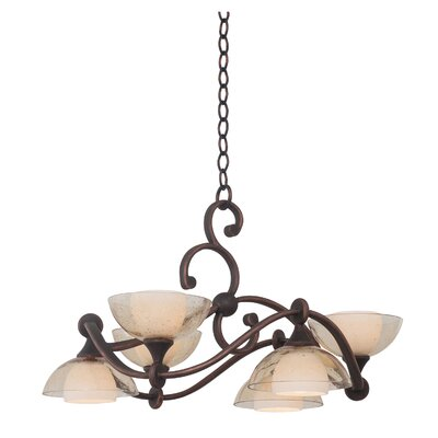 Arroyo 6-Light Shaded Chandelier
