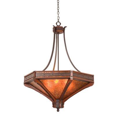 Aspen 6-Light Bowl Pendant Size: 51 H