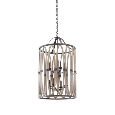 Belmont 8-Light Foyer Pendant