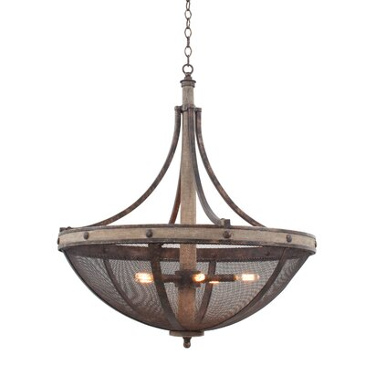 Coronado 6-Light Bowl Pendant