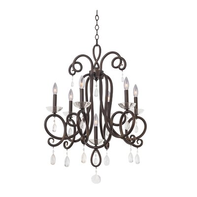 Winona 7-Light Candle-Style Chandelier