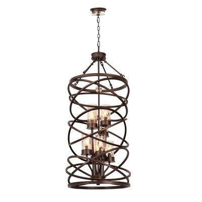 Eternity 8-Light Foyer Pendant